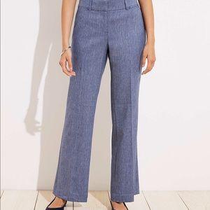 LOFT Julie fit grey trousers, size 10